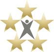 Logo five star premium
