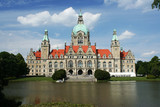 The city hall in Hannover, Germany