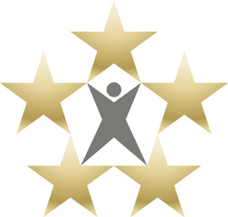 Logo five star premium