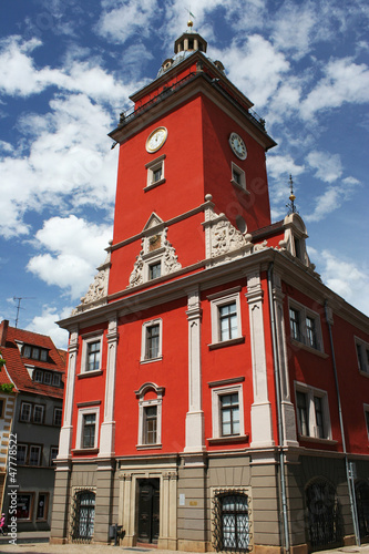 A building in Gotha, Germany