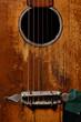 Old guitar detail