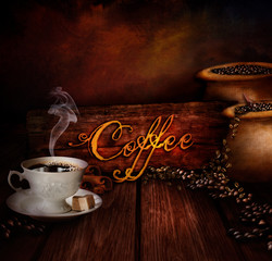 Food design - Coffee warehouse
