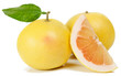 grapefruit and slice