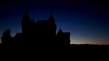 Slovakia Bojnice Castle sunrise