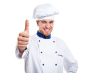 Successful chef portrait