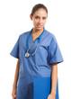 Portrait of a beautiful nurse