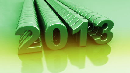 2013 - New Year Green