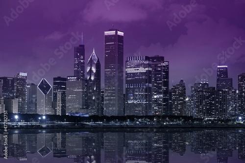 Fototapeta architektura - amerykański - Chicago