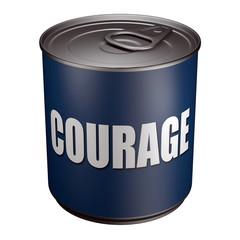 Courage - Boite de conserve