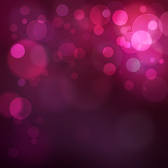 beautiful abstract purple bokeh background
