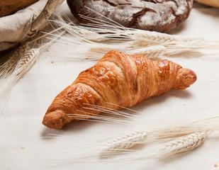 Tasty frest croissant
