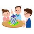 マンションの購入を検討する夫婦
