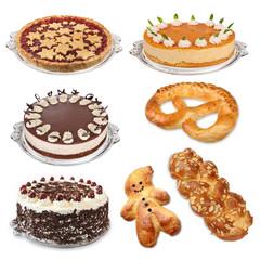 Torten und Gebäck, pâtisserie