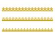3 Frises couronne - Epiphanie
