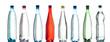 Bouteilles d'eau pétillante - 47792124