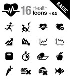 Fototapety Basic - Health and Fitness icons