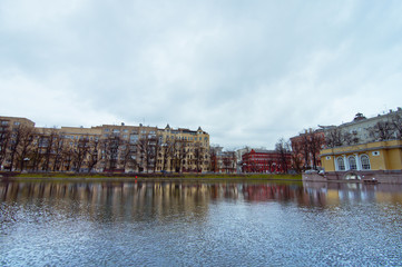 Patriarch pond in Moscow