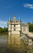 Chateau Azay-le-Rideau (was built from 1515 to 1527), france