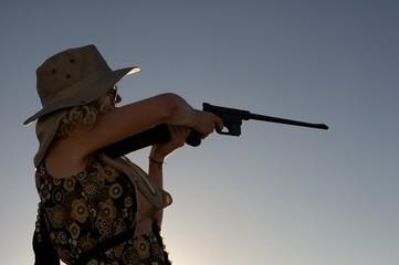 target shooting outdoors