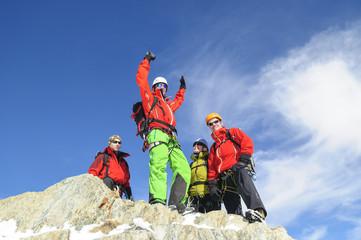 Freude am Gipfel