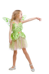 Dancing fairy girl