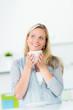 gemütlich kaffee trinken