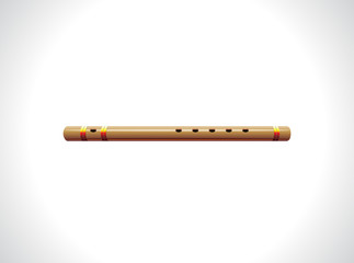 abstact glossy flute