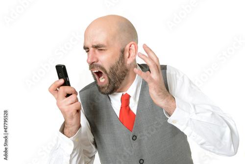 Ausrasten am Telefon