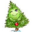 Cute little christmas tree