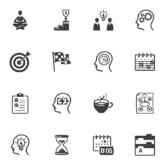 Productive at Work Icons