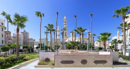 Mosque of Al-Mursi Abul Abbas, Alexandria. Egypt.