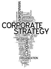 """Word Cloud """"Corporate Strategy"""""""