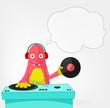 Funny Monster. DJ.