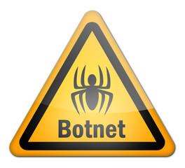 "Hazard Sign ""Botnet"""
