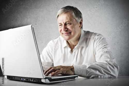 Old Man Laptop
