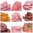 meat collage