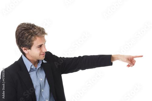 Mit dem Finger deuten