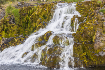 Waterfall - Westfjords, Iceland.