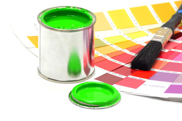 Paint and Colour Chart