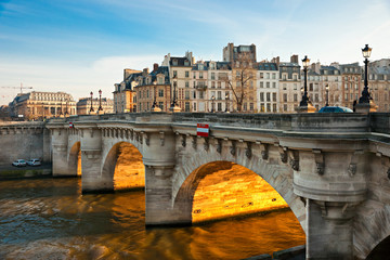 Pont neuf, Ile de la Cite, Paris - France