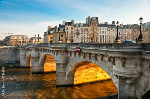 Papiers peints Paris Pont neuf, Ile de la Cite, Paris - France