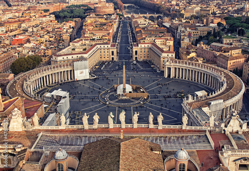 Piazza San Pietro in Vatican City