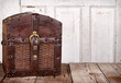 Wooden trunk or chest