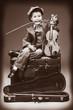 rose and violin