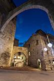 Perugia, Via Maestà delle Volte al crepuscolo poster