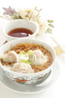 Chinese cuisine, Wonton noodles with tea
