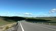 spanien landschaft mit strasse