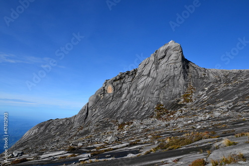 North Peak as seen near summit of Mount Kinabalu in Sabah.