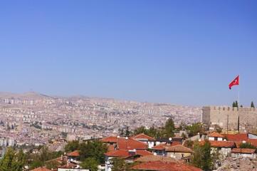 Kaleden Ankaraya Bakış