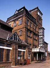 Victorian tower brewery, Hook Norton, UK © Arena Photo UK